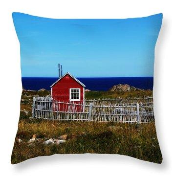 Bonavista Throw Pillow by Leanna Lomanski