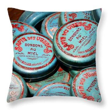 Bonbons Au Miel Throw Pillow by Lainie Wrightson