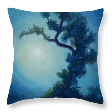 Bonsai I Throw Pillow by James Christopher Hill