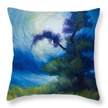 Bonzai II Throw Pillow by James Christopher Hill