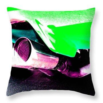 Throw Pillow featuring the photograph Borla Groove by Carolina Liechtenstein