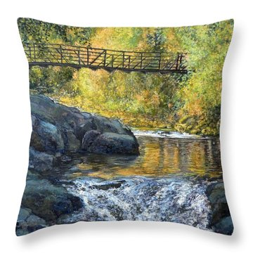Boulder Creek Throw Pillow