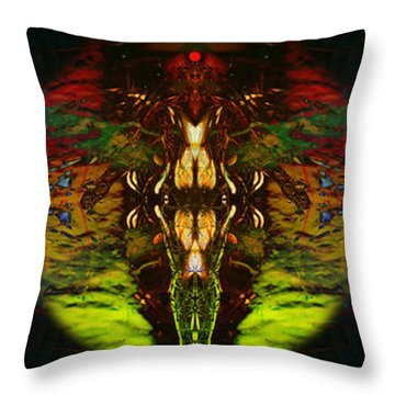 Bound By Desire Throw Pillow