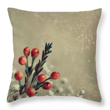 Bouquetterie Throw Pillow by Aimelle