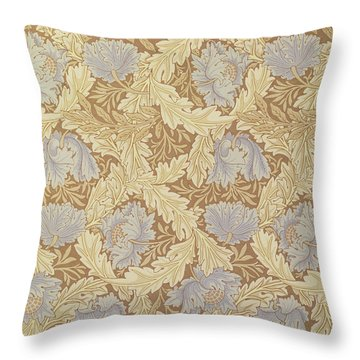 Bower Wallpaper Design Throw Pillow by William Morris