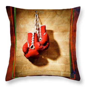 Boxing Throw Pillow