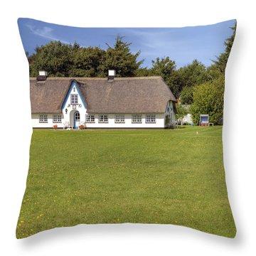 Braderup - Sylt Throw Pillow by Joana Kruse