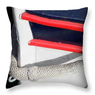 Braided Bumper Throw Pillow by Lainie Wrightson