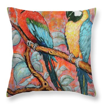 Brazilians Jailed For Life Throw Pillow by Charles Munn