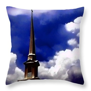 Breaking Storm Throw Pillow