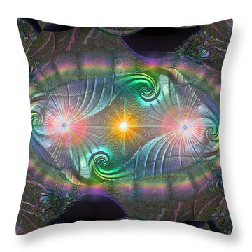 Breakthrough Throw Pillow by Michael Durst