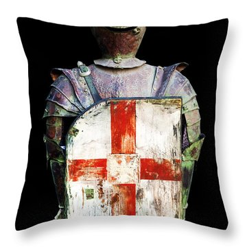 Breastplate Throw Pillow
