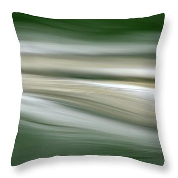 Breath On The Water Throw Pillow
