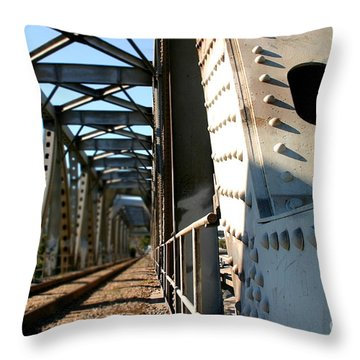 Bridge Throw Pillow by Henrik Lehnerer