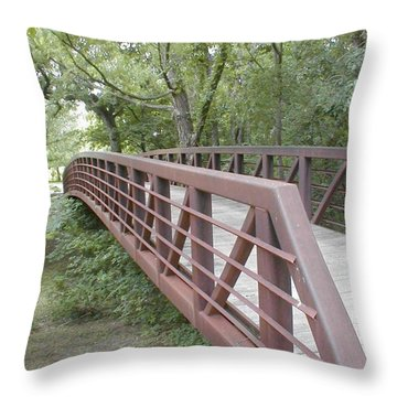 Bridge To Beyond Throw Pillow