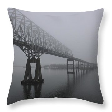 Bridge To Nowhere Throw Pillow