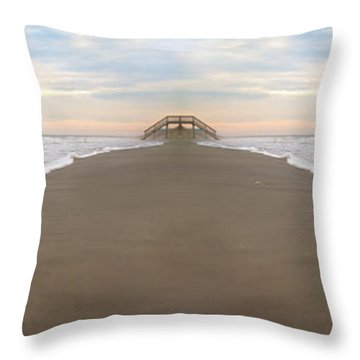 Bridge To Parallel Universes  Throw Pillow by Betsy Knapp