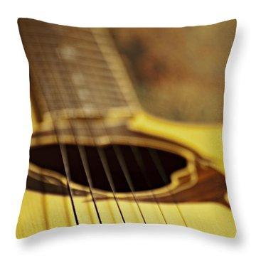 Bridging The Gap Throw Pillow by Christopher Gaston