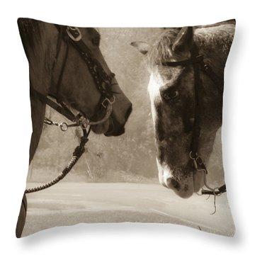 Brief Encounter Throw Pillow by Kim Henderson