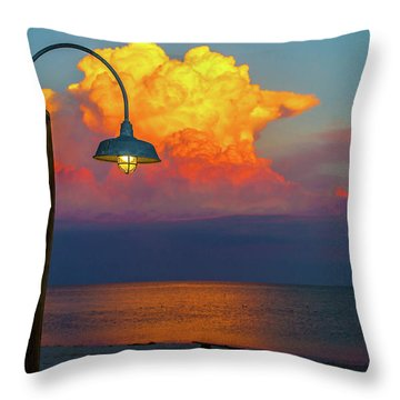 Brilliant Throw Pillow by Shannon Harrington