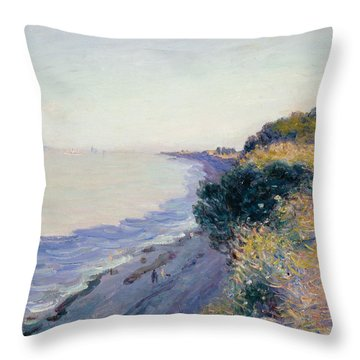 Bristol Channel Evening Throw Pillow
