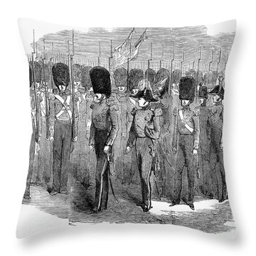 Britain: Fusiliers, 1854 Throw Pillow by Granger