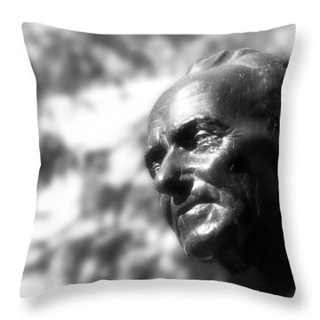 Brother Andre Throw Pillow by Nicola Nobile