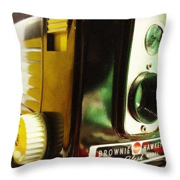 Brownie Hawkeye Throw Pillow