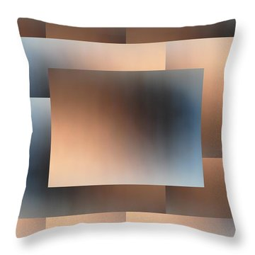 Brushed 01 Throw Pillow by Tim Allen
