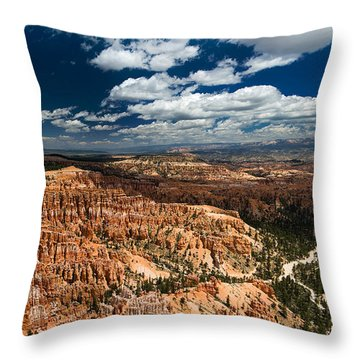 Bryce Canyon Ampitheater Throw Pillow