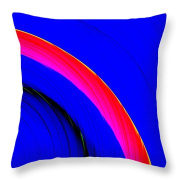 Throw Pillow featuring the digital art Brygos by Jeff Iverson