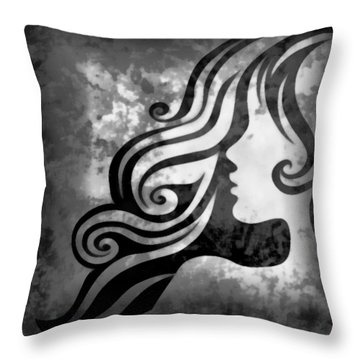 Btw I Loved You 2 Throw Pillow by Angelina Vick