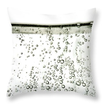 Bubbles Throw Pillow by Photo Researchers, Inc.