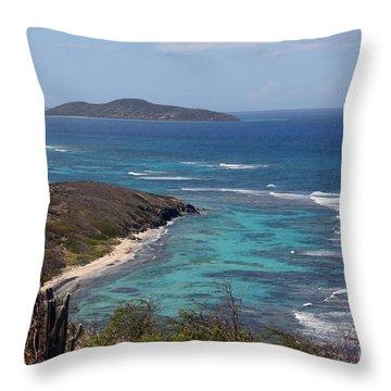 Buck Island Usvi Throw Pillow