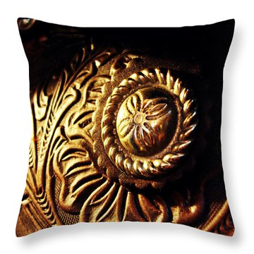 Buckle Throw Pillow