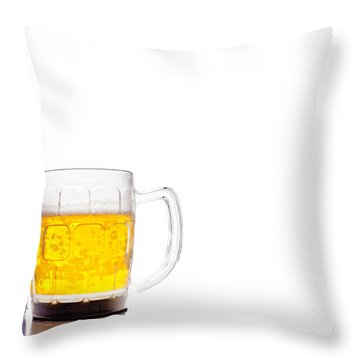 Bud Light Platinum Throw Pillow