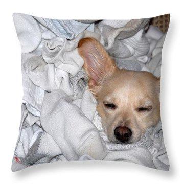 Buddy Socks Throw Pillow