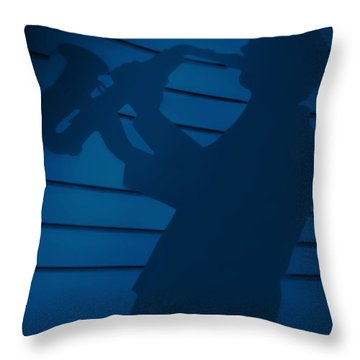 Budweis - Home To The Beer Of Kings Throw Pillow by Christine Till