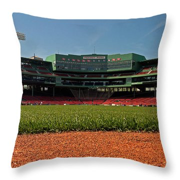 Bugs Eye View From Center Field Throw Pillow by Paul Mangold