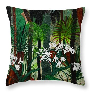 Bush Beauty Throw Pillow