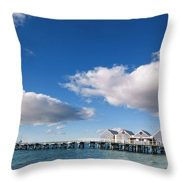 Busselton Throw Pillows