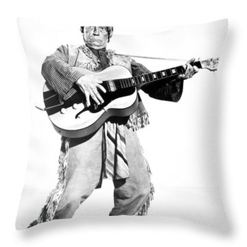 Buster Keaton, 1964 Throw Pillow by Granger