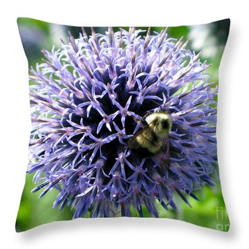 Busy As Me Throw Pillow