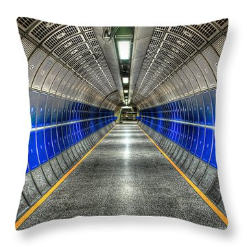 Butterfly Effect Throw Pillow by Svetlana Sewell