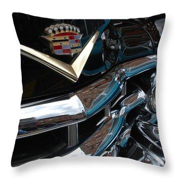 Throw Pillow featuring the photograph Caddy 52 by John Schneider