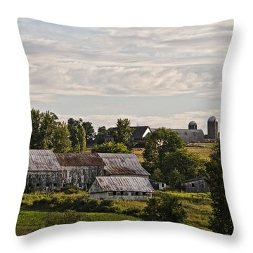 Cadis Farm Throw Pillow