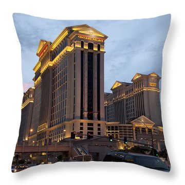 Caesars Palace  Throw Pillow by Jane Rix