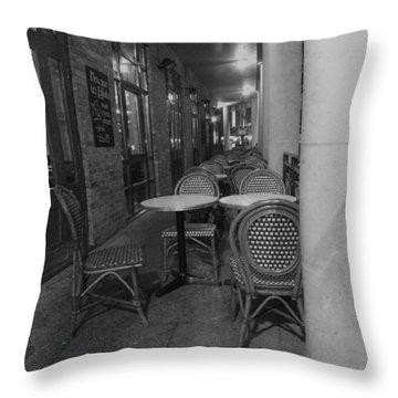 Cafe Rouge Throw Pillow by Anna Villarreal Garbis