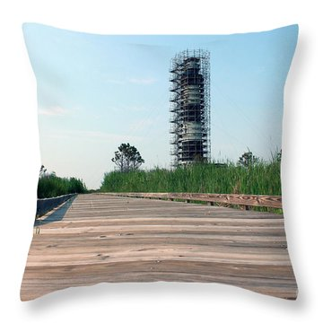 Throw Pillow featuring the photograph Caged Beauty 1 by Tony Cooper