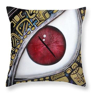 Calendario Maya Haab 4 Throw Pillow